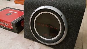 """Rockford Fosgate 4 Channel Amp and 12"""" P1 Subwoofer Merrylands Parramatta Area Preview"""