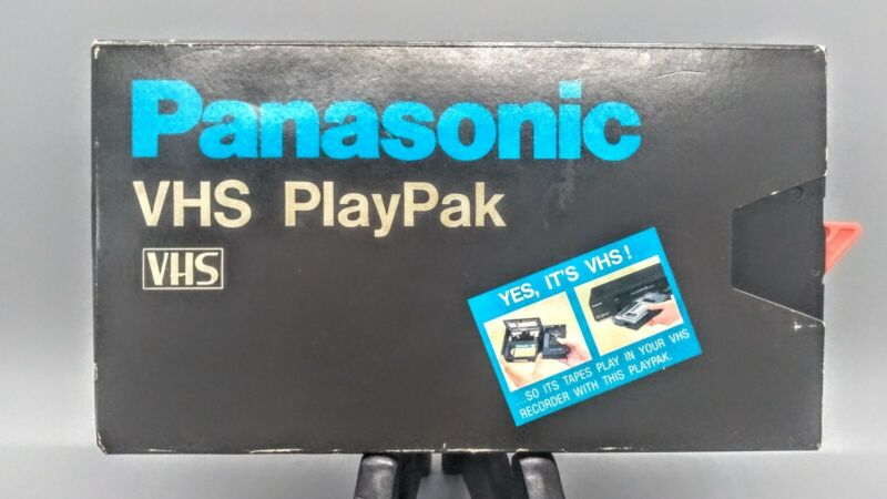 Panasonic VHS VHS PlayPak VYMW0009 With Original Box
