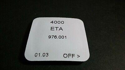 ETA 976.001 4000 Circuit, NOS, Sealed, for watch repair/parts Eta Watch Parts