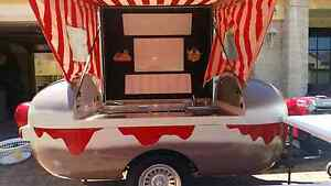 Food trailer hotdog trailer market stall Horsley Wollongong Area Preview