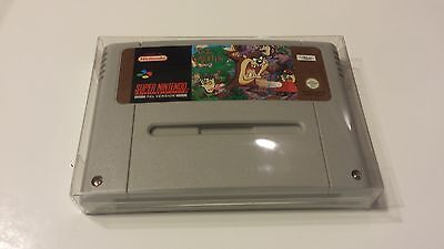 25 PAL SNES and SFC Cartridge Cart Box Protectors Sleeves Super Famicom