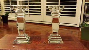 Pair of Crystal Candle Holders Ryde Ryde Area Preview