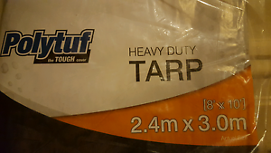 2 x Polyturf heavy duty tarp 2.4 x 3 meters Moonee Ponds Moonee Valley Preview