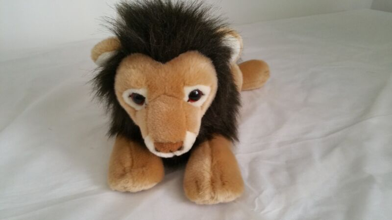 Gund Lion Roman Sr Stuffed Plush Toy Animal 31121 Tan 23""