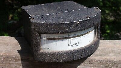 Sensative Research Instrument Model Jw Kilovolts Meter