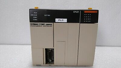 Used Omron Cqm1-cpu21 Cpu Unit 24vdc 10ma 16points