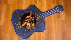 Vintage Retro Antique Elvis Presley The King Guitar Wall Clock Picture Art Photo