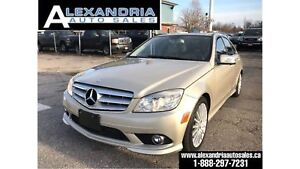 2010 Mercedes-Benz C-Class C250 4MATIC safety included