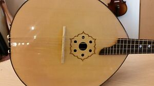4 strings Domra, made in Romania by Hora, solid wood, NEW,handmade