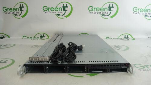 "Supermicro SYS-1026T-6RFT+ 1U CSE-119 8-Bay 2.5"" 2x 6C E5645 2.4GHz 8GB Server"
