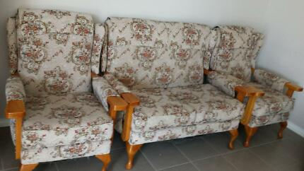 sofa + armchairs in good condition Balga Stirling Area Preview
