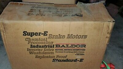 Brand New Baldor Electric Motor 15 Hp 230460 Volts M2513t C-x