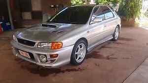 Subaru Impreza WRX Darwin CBD Darwin City Preview