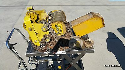 Lifttech Budgit Chain Hoist 3 Ton With Ibeam Trolley