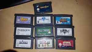 Gameboy Advance game cartridges. Mandurah Mandurah Area Preview