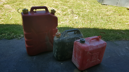 3 x jerry cans