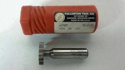 .199 Fullerton Tool Carbite Keyseat Cutter