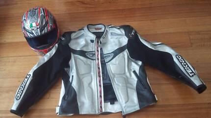 Helmet size XS and bike jacket small/medium