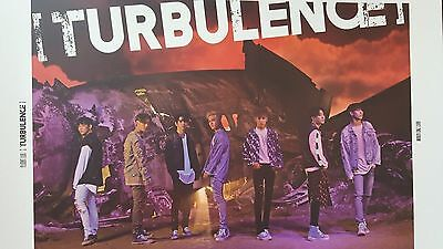 "KPOP : "" GOT7 "" Official Poster    TURBULENCE : Color"