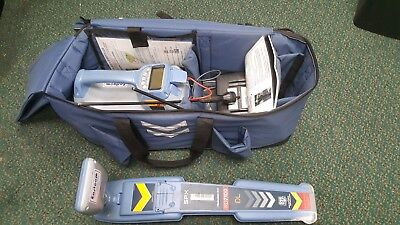 Spx Radiodetection Rd7100 Dl Cable Pipe Locator W Tx-10 Transmitter And Clamp