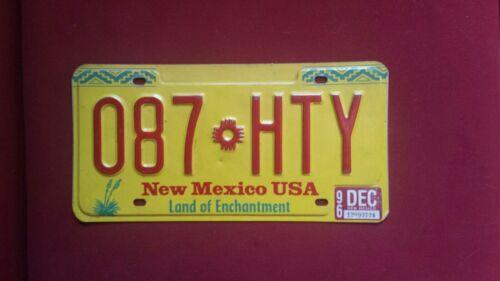 USA NUMMERNSCHILD  NEW MEXICO 1996