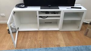 Fully functional TV cabinet