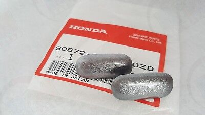 OEM Honda 04-09 S2000 Front Bumper Tow Hook Cap Towing Cover Silverstone AP2