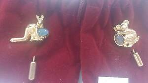 Gold Kangaroo/Koala Pins Stafford Brisbane North West Preview