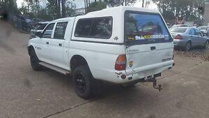 Mitsubishi Triton Ute 4x4 twin cab, good mechanical conditions Ashmore Gold Coast City Preview