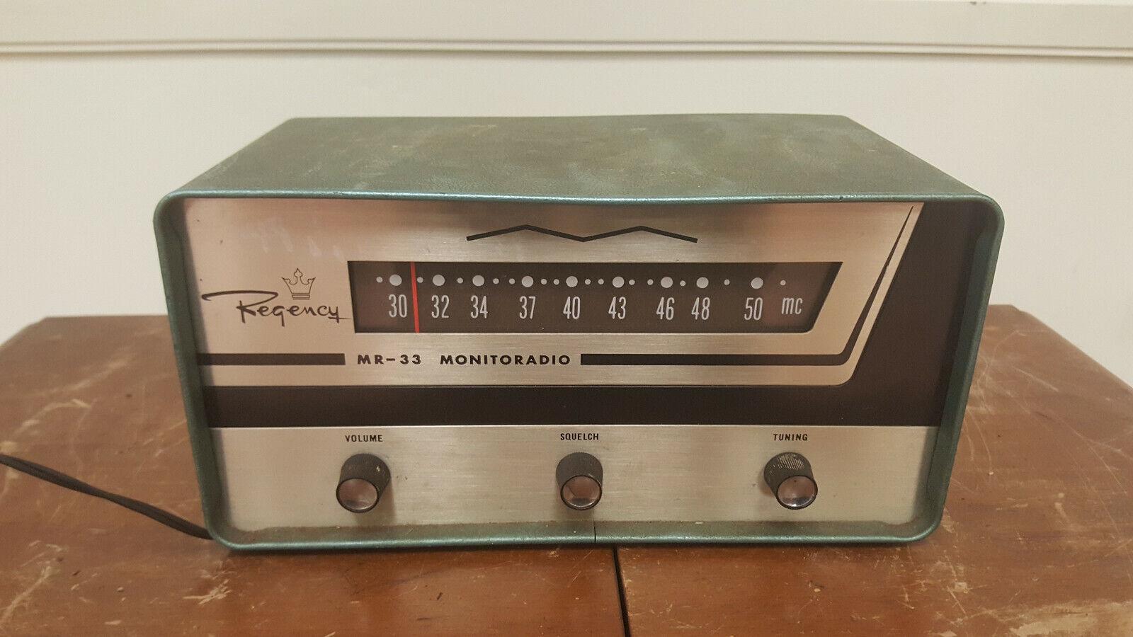 VHF-Low Band Regency MR-33 Monitoradio
