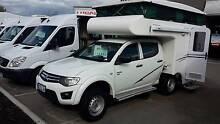 KB CAMPERS Mitsubishi ,AUTO DIESEL 4 BERTH POP TOP  DUAL CAB 4X4 Wangara Wanneroo Area Preview