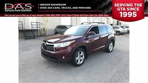 2014 Toyota Highlander LIMITED NAVIGATION/PANORAMIC ROOF/7 PASS