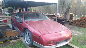 1984 pontiac fiero GT turbo rwd manual v6 Mount Cotton Redland Area Preview