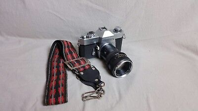 Yashica TL-SUPER Camera w/ Auto YASHINON-DX 1:1.7  50mm Lens with extender