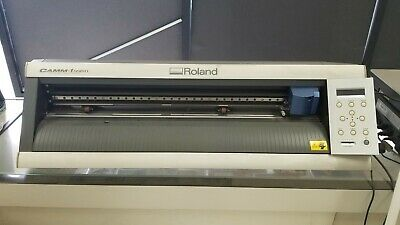 Roland Camm-1 Servo Gx-24 24 Desktop Sign Maker - Vinyl Plotter Cutter