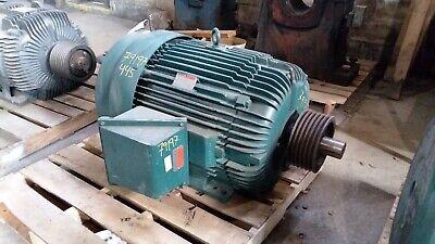 100 Hp Reliance Electric Motor 1800 Rpm 445u Frame Tefc 460 V