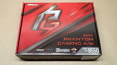 ASRock B550 Phantom Gaming 4/ac AMD AM4 Gen4 M.2 SATA 6Gb/s ATX Motherboard