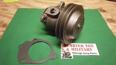 Jeep Willys M38 M38A1 Double pulley water pump NEW US Made 945142, used for sale  Shipping to Canada
