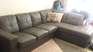 5 seater lounge with sofa bed and chase Newcastle East Newcastle Area Preview