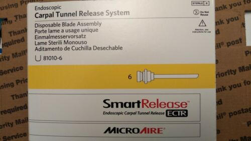 MICROAIRE SMART RELEASE ENDOSCOPIC CARPAL TUNNEL BLADE
