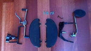Floor boards with brake lever & heal Toe shifter Butler Wanneroo Area Preview