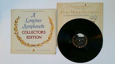 Longines Symphonette Collector's Edition Vintage LWS 251  Harold Arlen Festival
