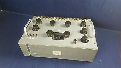 Vintage Leeds Northrup Type K3 Universal Potentiometer No. 7553-5 3-day Refund