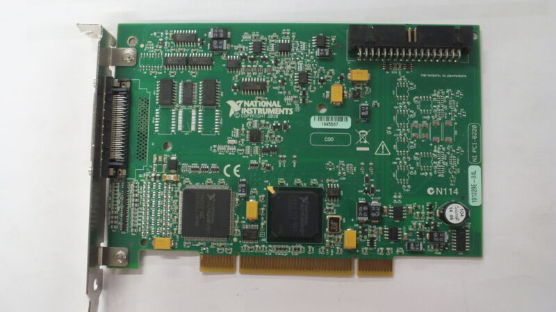 National Instruments NI PCI-6220 191329E-04L Analog Input PCI Card