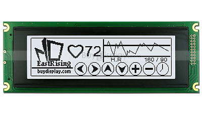White 240x64 Graphic Lcd Module Display Wra6963t6963 Controller Wtutorial