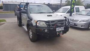 2005 Toyota Hilux Tray Ute TURBO DIESEL 4X4 Williamstown North Hobsons Bay Area Preview