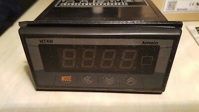 New In Box Autonics Mt4w-av-4n Panel Meter
