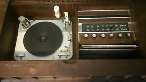 Vintage Marconi Floor Model Record Player/Radio