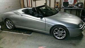 2005 Alfa romeo spider The Entrance Wyong Area Preview