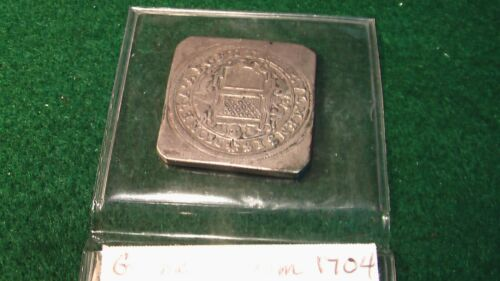 Ulm Germany 1704 Silver Gulden Klippe Siege Coinage nice history piece